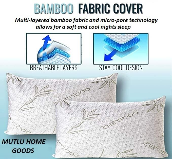 Cool Bamboo Bed Pillow Cool Bamboo