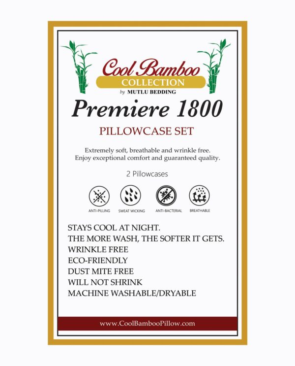 cool bamboo pillow case set