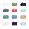 All Colors Cool Bamboo Bed Sheet Set white, sage green, navy blue, grey, coral, light blue, teal, blue, beige, ivory, purple, aqua colors