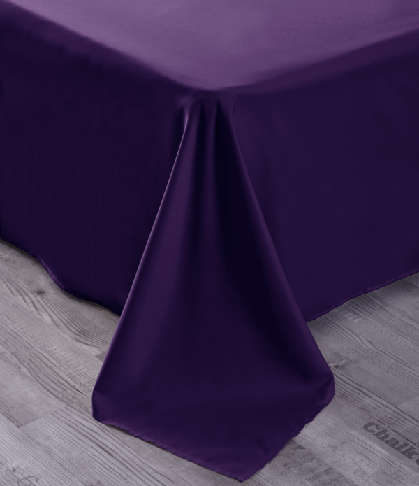 Purple 9 Cool Bamboo Bed Sheet Set