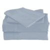 Silver Cool Bamboo Bed Sheet Set