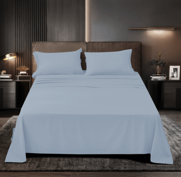 Silver 3 Cool Bamboo Bed Sheet Set